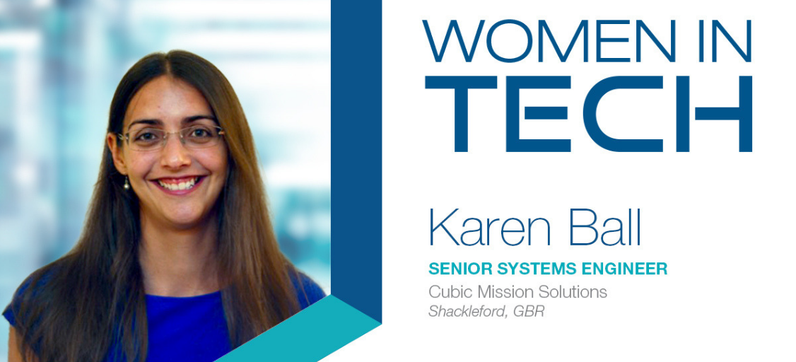 Women In Technology | Cubic's Karen Ball