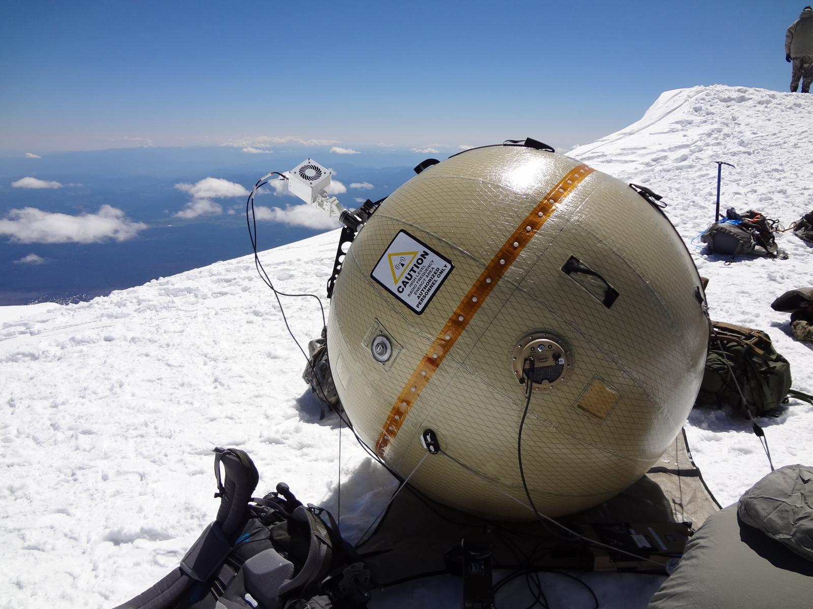 GATR Antenna in Snow